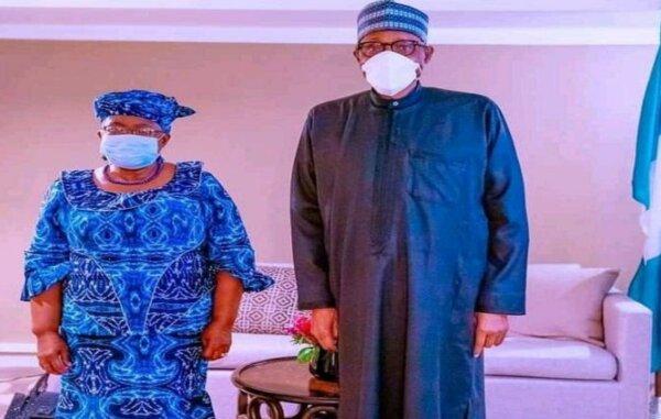 Read more about the article Okonjo-Iweala meets Buhari in New York